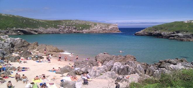 Cuè, Asturias Beach