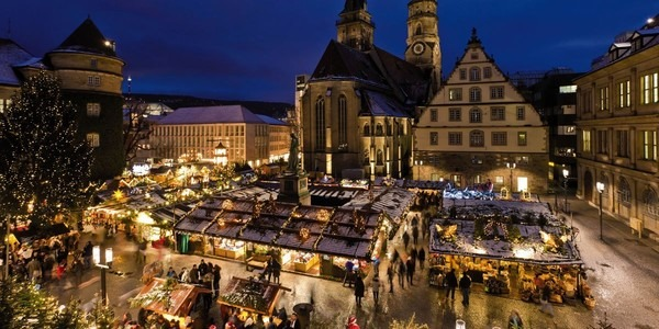 One of the best German Christmas market - Nuremberg