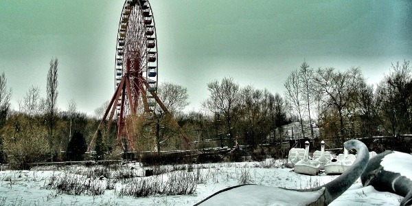 Spreepark in Berlin, Germany