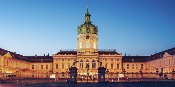 Charlottenburg Castle in Berlin