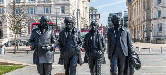 The Statue of the Beatles