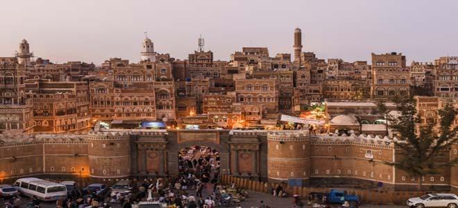 Sana'a city in Yemen