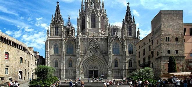 The Cathedral of Barcelona