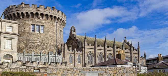 A castle in Dublin