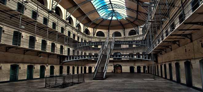 Kilmainham Gaol Prison in Dublin