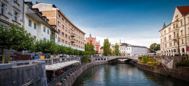 Ljubljana, the old town