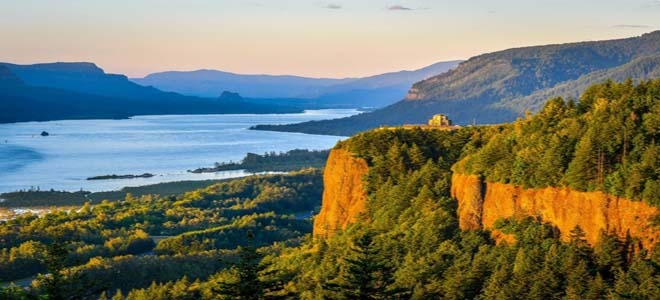 A national park in Oregon