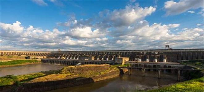 The dam of Itaipú