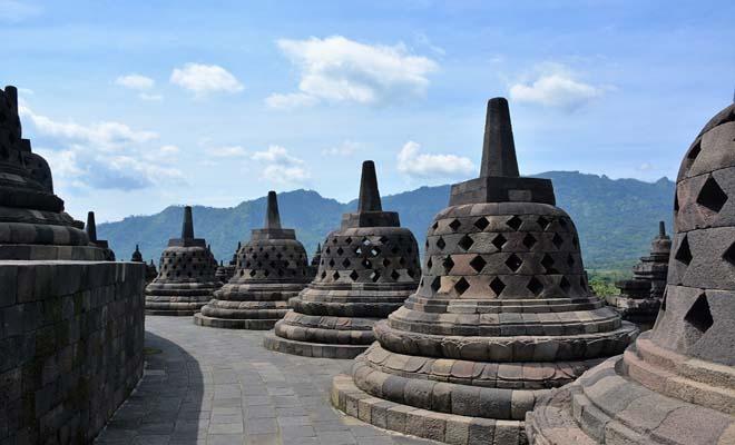 Yogyakarta temple, Indonesia