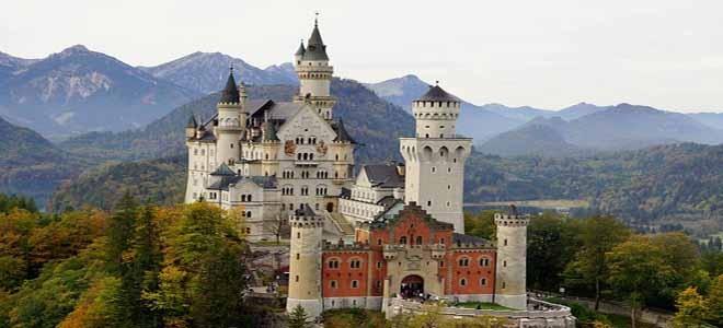 Neuschwanstein Castle of Ludwig II