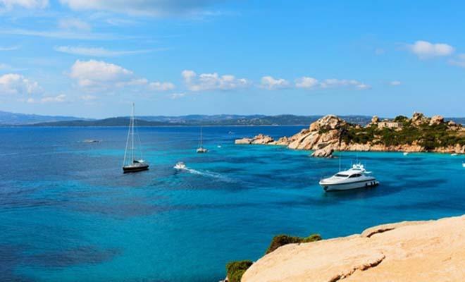 Costa Smeralda beach, Sardinia