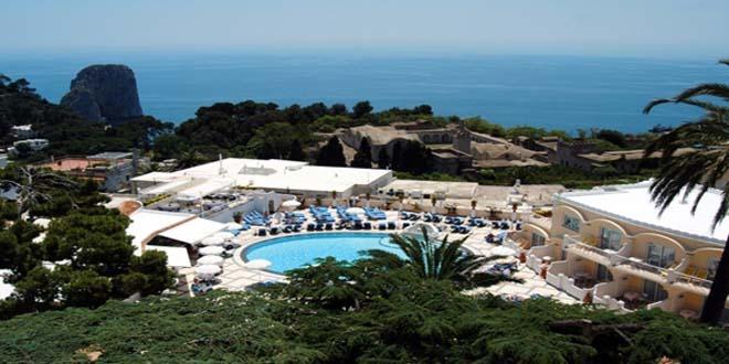 Grand Hotel Quisisana in Capri