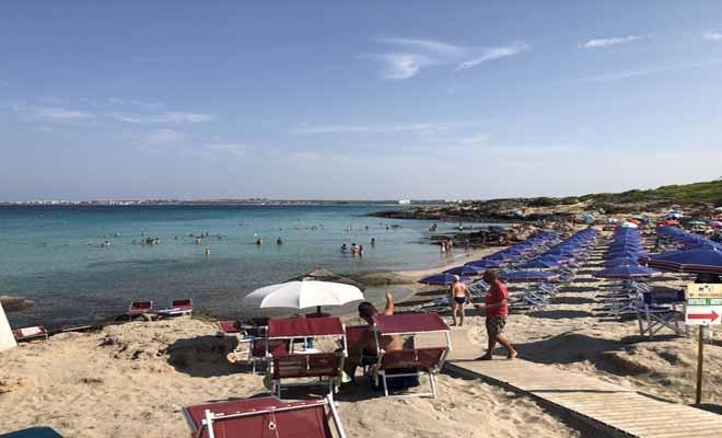 Punta della Suina beach, Puglia