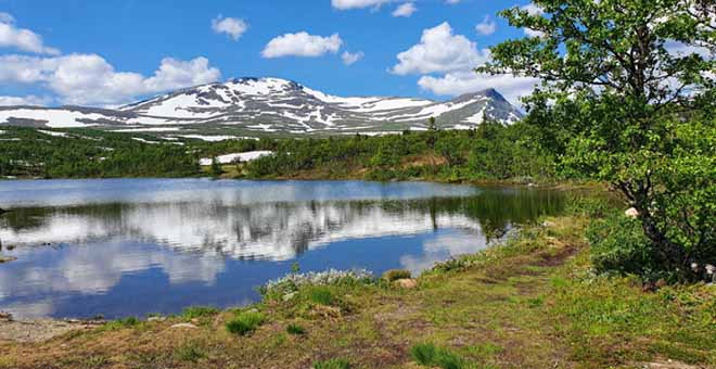 Åreskutan Mountain in Sweden