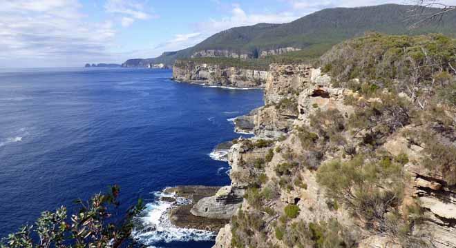 Beautiful Tasmanian landscape